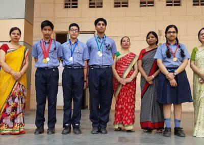 Hindi Olympiad Winners
