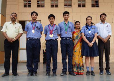 Maths Olympiad Winners