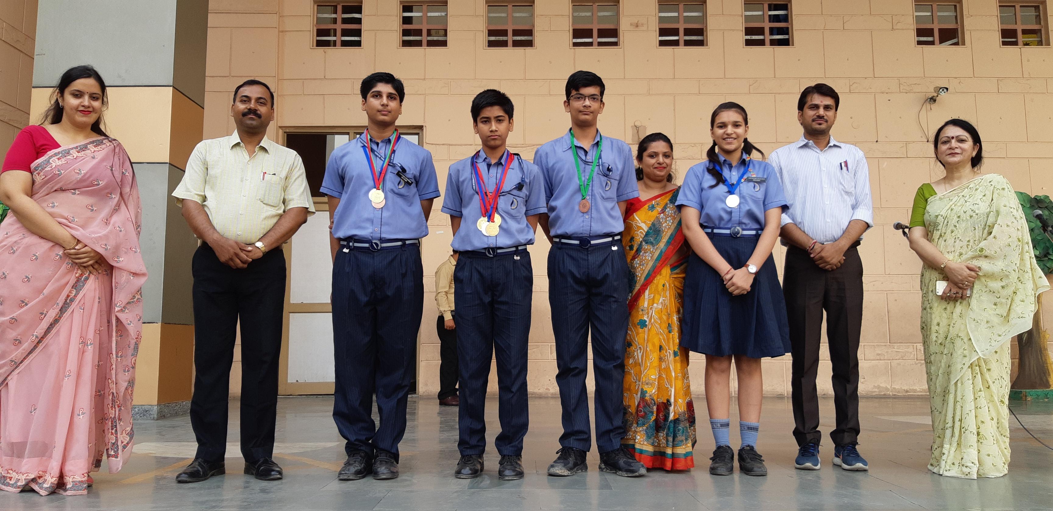 Olympiad Result | Dwarka International School