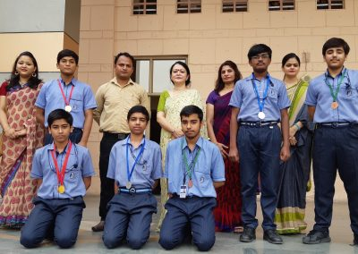 Science Olympiad Winners